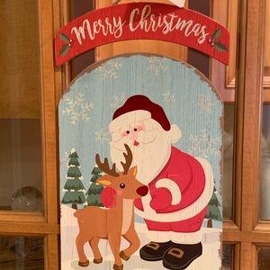NWT Christmas Sleigh Sign